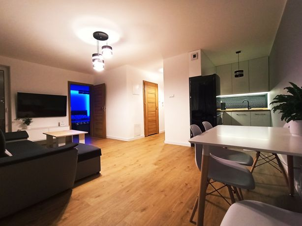 Nowoczesny Apartament Jurajska Plaza na doby PARKING gratis