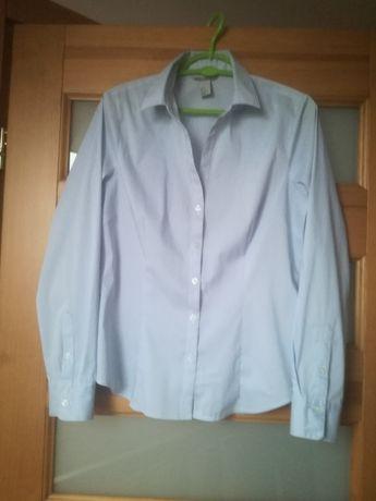 Elegancka bluzka H&M i spodnie Qiosque