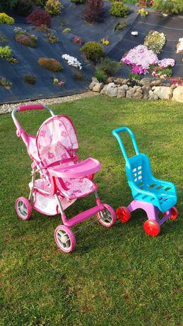 Wózek dla lalek + drugi GRATIS