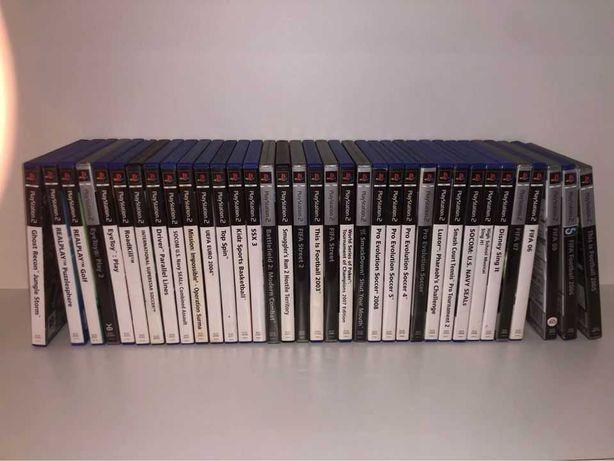 Pack de jogos Ps2