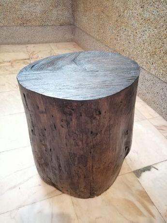 Troco de Madeira decorativo