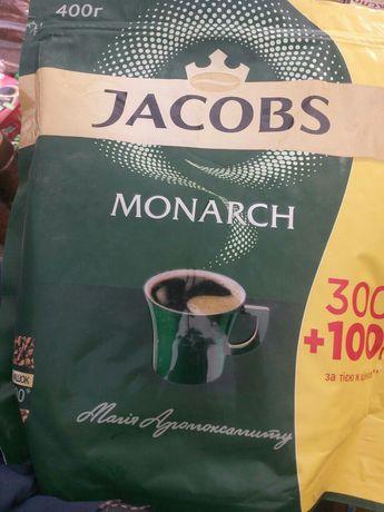 """Кофе """"Якобс"""",300+100. """"Jacobs monarch"""", 400."""