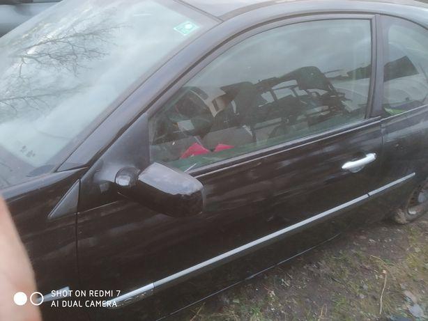 Renault Megane II 2 3D - Drzwi Lewe kpl. NV676