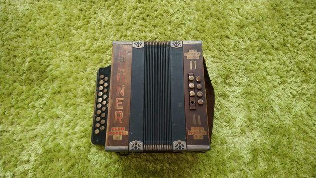 Hohner Club Modell 1 - Akordeon guzikowy - Niemcy - 1930