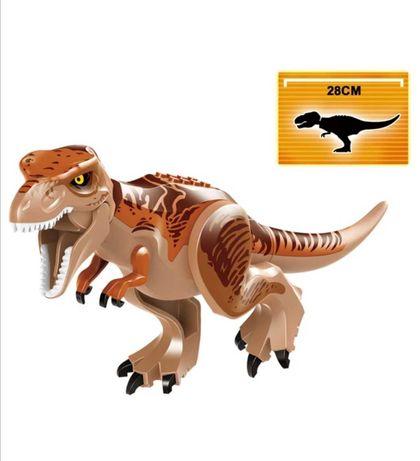 JURASSIC WORLD Dinozaur Dinozaury lego Tyranosaurus Rex Duży 28cm
