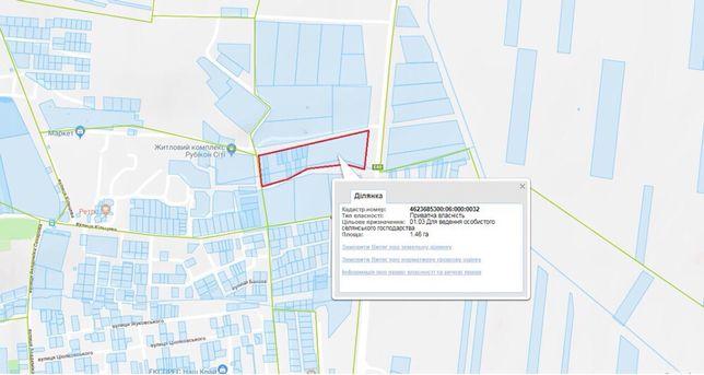 Продаж земельної ділянки у Винниках(об'їздна дорога)