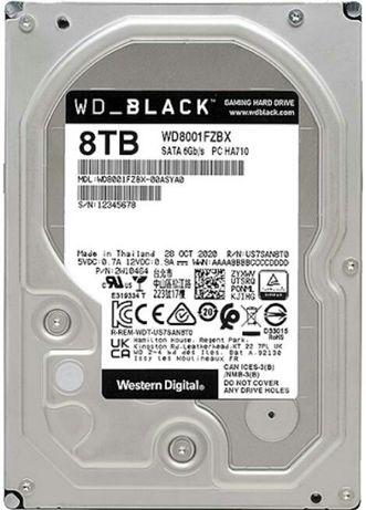 "WD8001FZBXWD HD3.5"" SATA3 8TB жёсткий диск. Массив. Новые!"