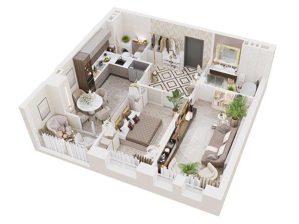 Продам  2х комнатную квартиру в одном из лучших комплексов города!