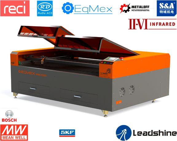 Лазерный станок. Лазерный гравер. Лазерный порезчик ESG-1000 CO2-125Вт