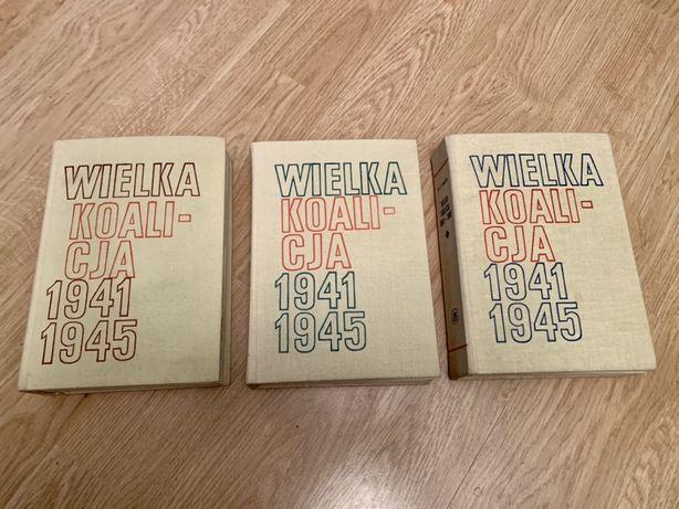Wielka koalicja 1941-45 Kowalski 3 tomy