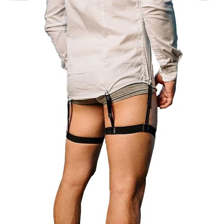 Подтяжки для фиксации рубашек! Рубашка больше не будет вылазить!