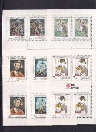 znaczki pocztowe czyste Czechy 1