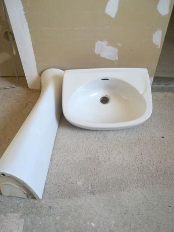 Umywalka łazienkowa+noga