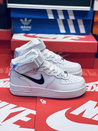 Зимние Nike Air Force Af2 Оригинальные кожаные Найк Аир Форс Аф 2