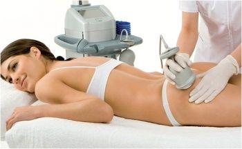Ультразвуковая липосакция rf лифтинг лимфодренажный массаж 200 грн