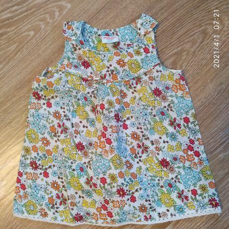 Платье на девочку 74 см