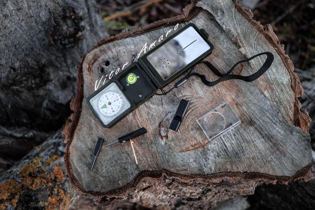 Mini Kit de Sobrevivencia com 10 Funções NOVO
