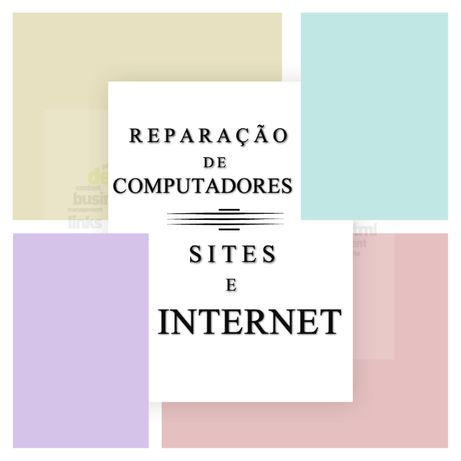 Reparação de Computadores e Sites de Internet