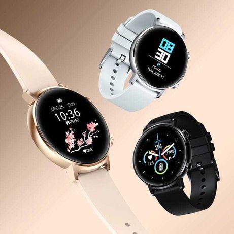 Smartwatch Zeblaze GTR Preto, Prateado e Dourado - Novos em loja