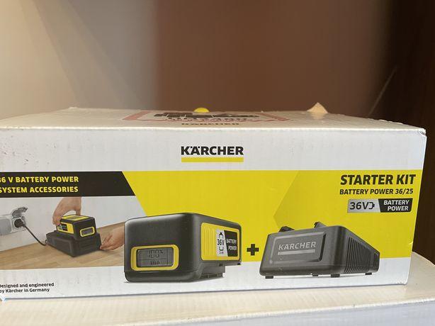 Szybka ładowarka + bateria 2,5Ah 36V Karcher zestaw