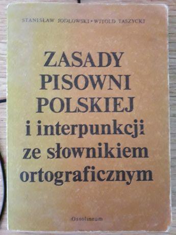 Zasady posowni Polskiej ...