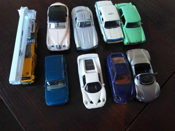 zestaw metalowych aut 9 szt 20 zł