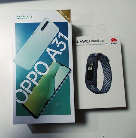 Telefon zegarek OPPO A31 Huawei Band4a smartwatch nowe 64gb