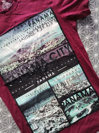Piękna koszulka t-shirt Panama City XS F&F