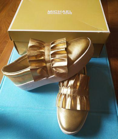 Продам шикарные кожаные туфли Michael Kors.