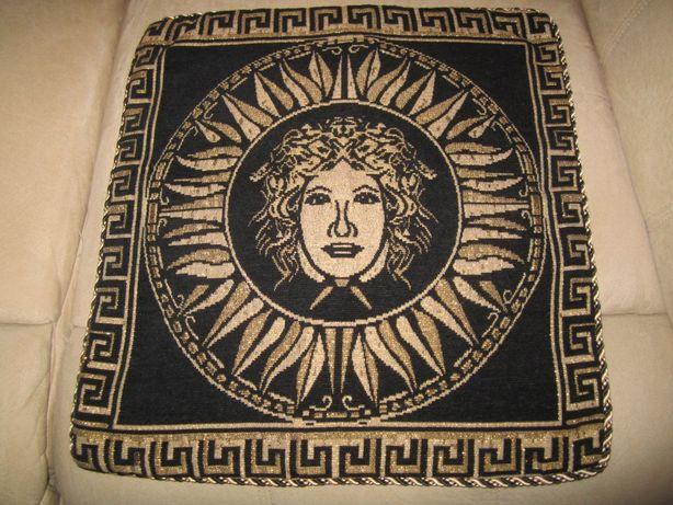 Фирменный Чехол Versace на Диванную Подушку Гобелен отличное качество