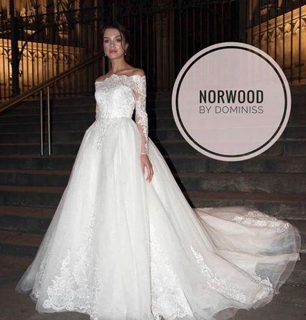 Свадебное платье испанского бренда Dominiss, модель 2018 года Norwood