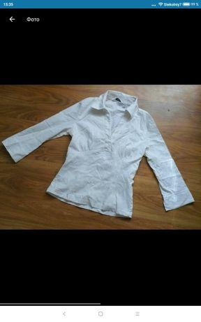 Школьная блузка ( рубашка) на девочку 12-15 лет