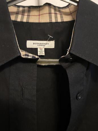 рубашка блузка BURBERRY Берберри оригинал 46 48 новая хлопок