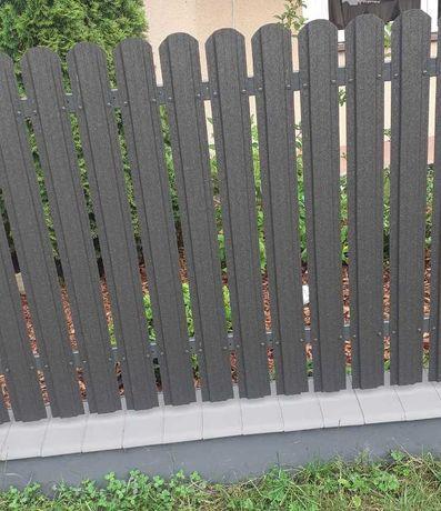 Sztachety metalowe profilowane z blachy - PRODUCENT PROMOCJA