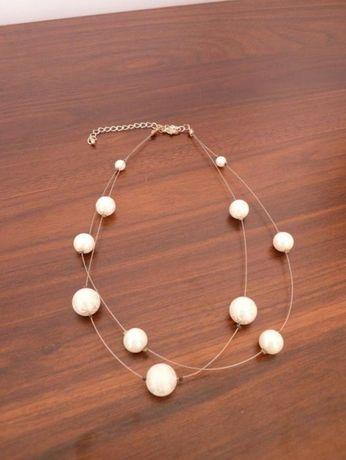 Orsay naszyjnik ze sztucznymi perełkami