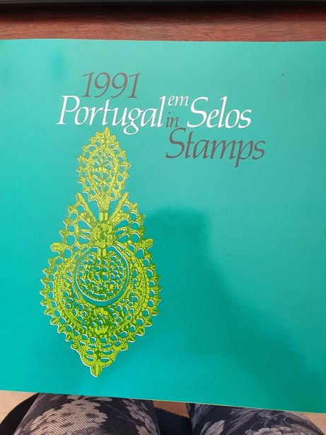 Livro Portugal em selos 1991