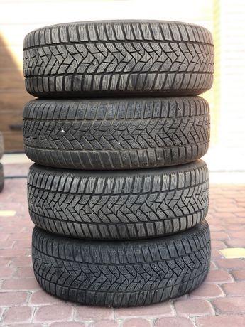 Зимняя 4 шт резина Dunlop 205/55/R16 зима диски 5х110 R16 Opel Zafira