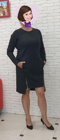 Офисное, комфортное платье