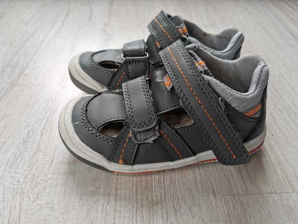 Sandały szare 24
