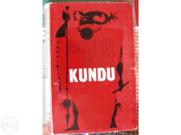 "Livro ""kundu"" Morris West"