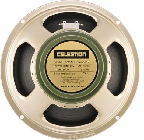 Głośnik gitarowy Celestion G12M Greenback, Made in England