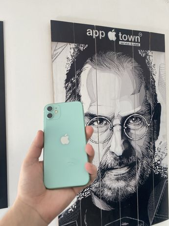 Iphone 11 64GB Green NEVERLOCK/Гарантия/Идеал/Магазин/Кредит