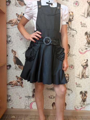 школьное платье, платье в школу, платье в школу на девочку