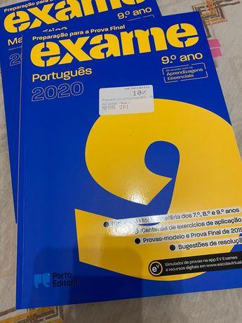 Livros preparação exames 9' Ano