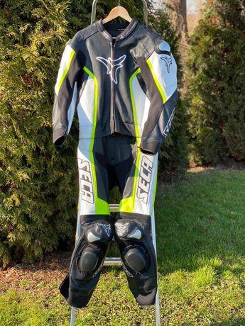 Nowy kombinezon motocyklowy SECA rev up rozmiar 50/52 wymiary fluo!