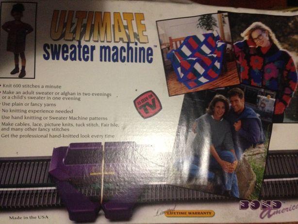Машинка для вязания.