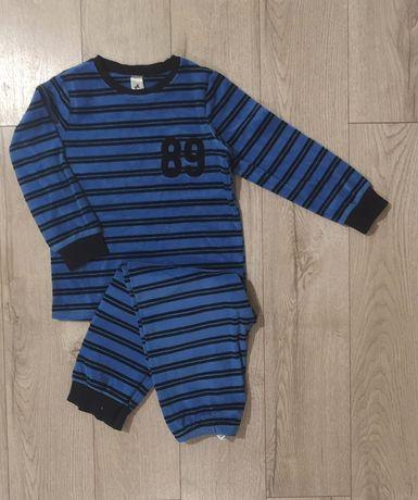 C&A 122 welurowa piżama