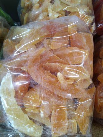 Дыня канталупа сушеная без сахара 5кг
