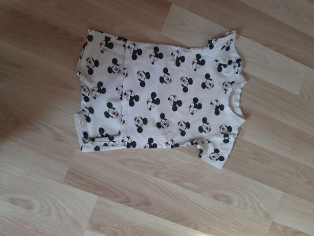 Piżamka letnia hm rozmiar 86