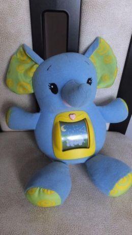 Развивающая интерактивная игрушка ночник Слон Leap Frog слоненок